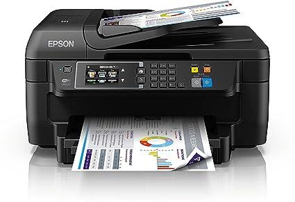 Epson Workforce WF-2760DWF - Impresora multifunción 4 en 1 (WiFi, inyección de Tinta, Pantalla táctil LCD Color), Color Negro, Ya Disponible en Amazon ...