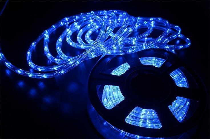 Amazon starshine 110v 2 wire waterproof led rope light kit for starshine 110v 2 wire waterproof led rope light kit for backgroundoutdoorchristmas aloadofball Image collections
