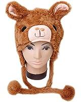 Winter Plush Animal Hat Alpaca
