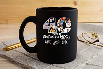 Depeche Mode Us Tour Dates 2020 Amazon.com: 40 years of depeche mode 1980 2020 Thank You For The
