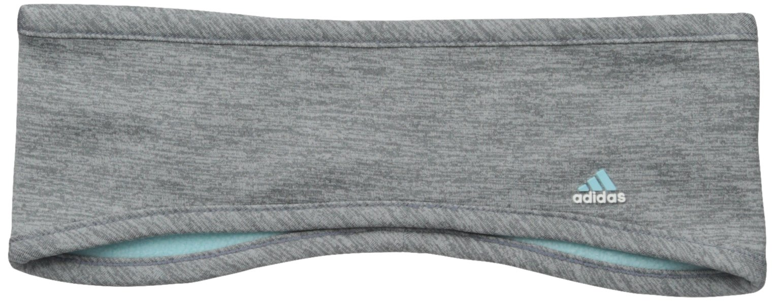 adidas Women's Powder Headband, One Size, Grey/Clear Onix/Frozen Blue
