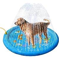 "Sprinkler Pad voor hond en kinderen 37 ""Water Splash Splash Splash Spelmat Watersproeier Opblaasbaar Verdikt Plansch…"