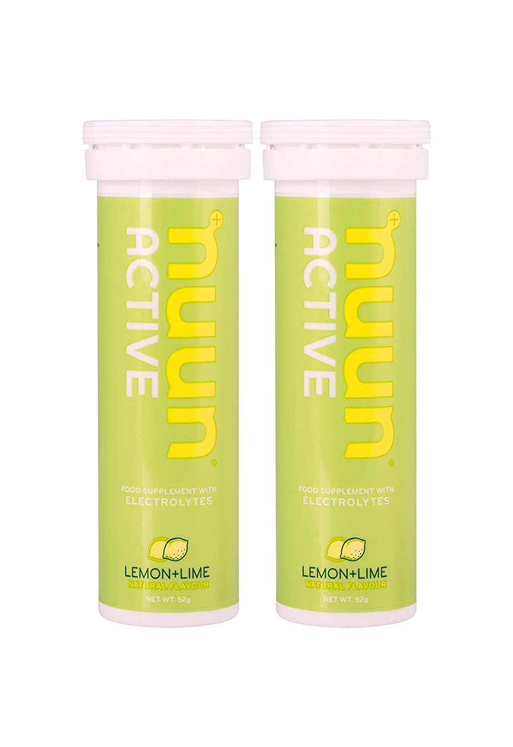 nuun Active Hydration Drink Tablet Lemon Lime - 2 Paquetes de 10 Cápsulas: Amazon.es: Salud y cuidado personal