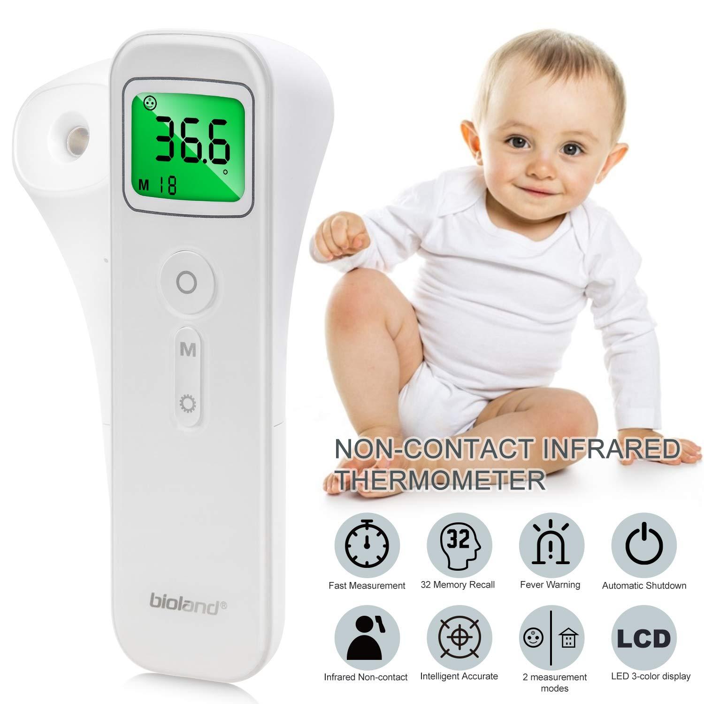 termómetro digital de infrarojos de pistola de contacto