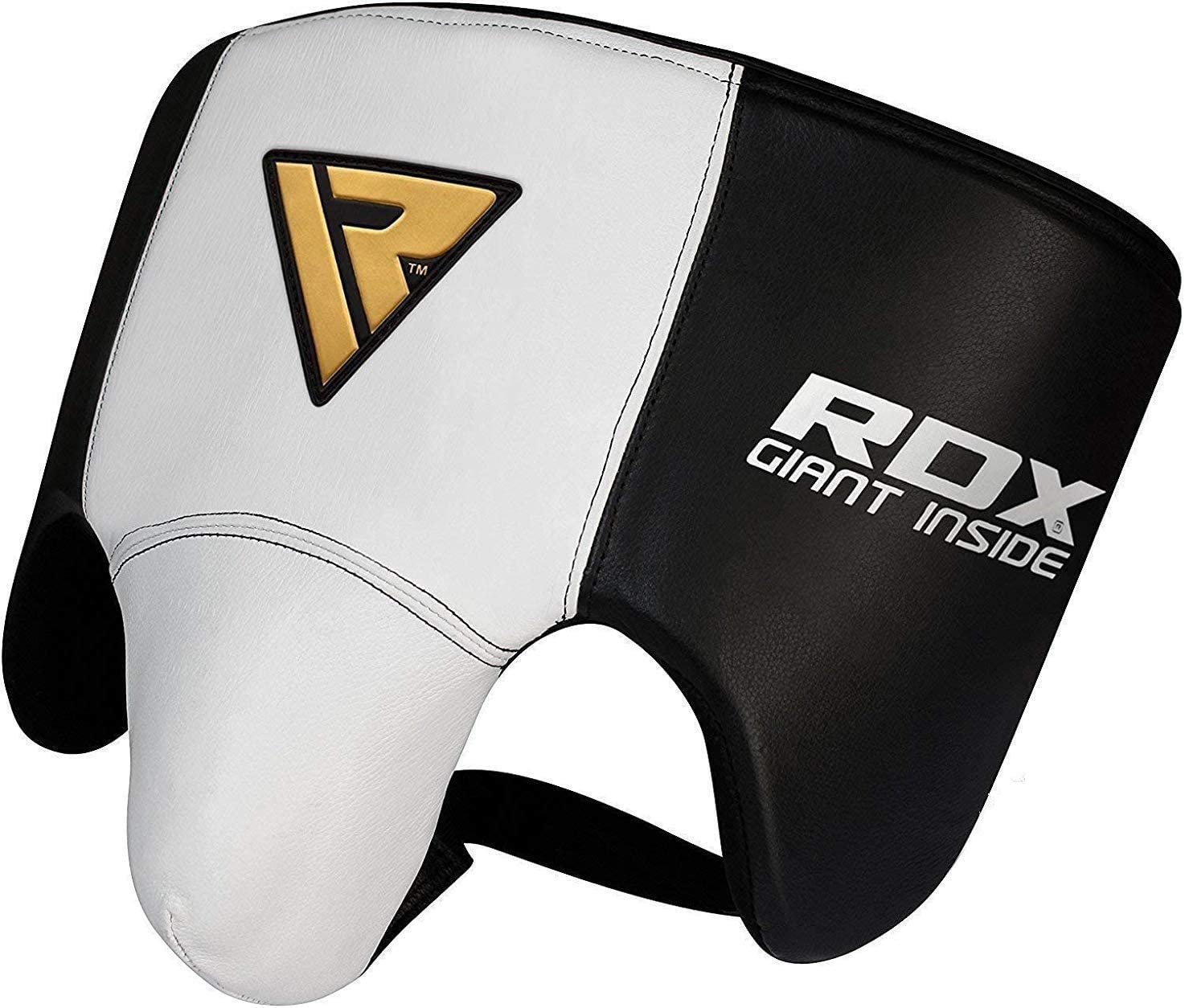 RDX Groin Protector for Boxing, Muay Thai, MMA Fighting and Kickboxing, Cowhide Leather Abdo Gear for Martial Arts Training, SATRA Approved Jockstrap Abdominal Guard for Sparring and Taekwondo : Sports & Outdoors