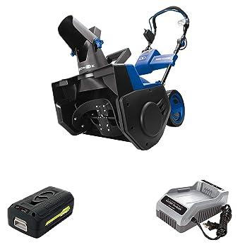 Snow Joe iON21SB-PRO Cordless Snow Blower Kit