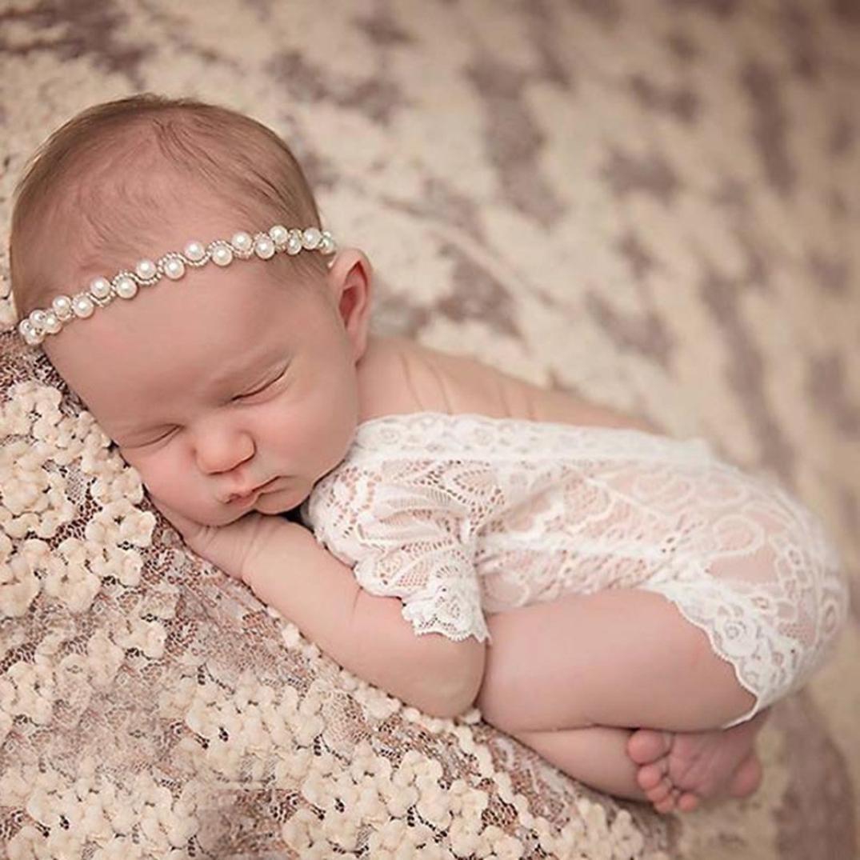 Btruely Herren Bebé niñas niños traje de foto fotografía prop trajes (Blanco): Amazon.es: Ropa y accesorios