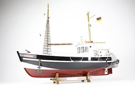 Gret Palucca Barco Madera Pesca Maqueta NO KIT 45x37: Amazon ...