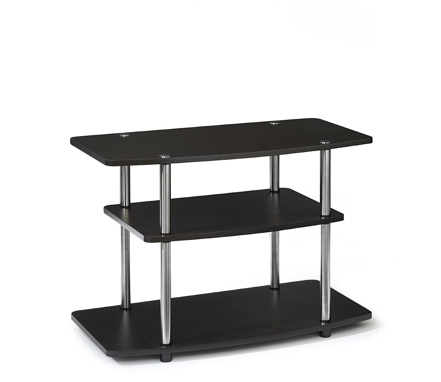 Convenience Concepts Designs2Go 3-Tier TV Stand, Dark Espresso