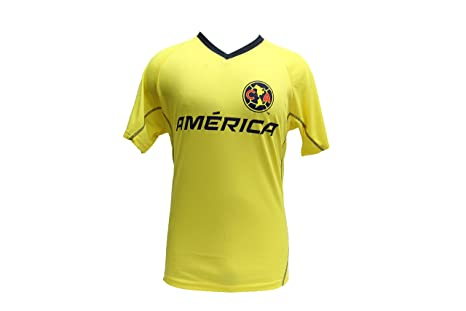 Club América oficial licencia fútbol Jersey/camiseta/Formación - Amarillo -