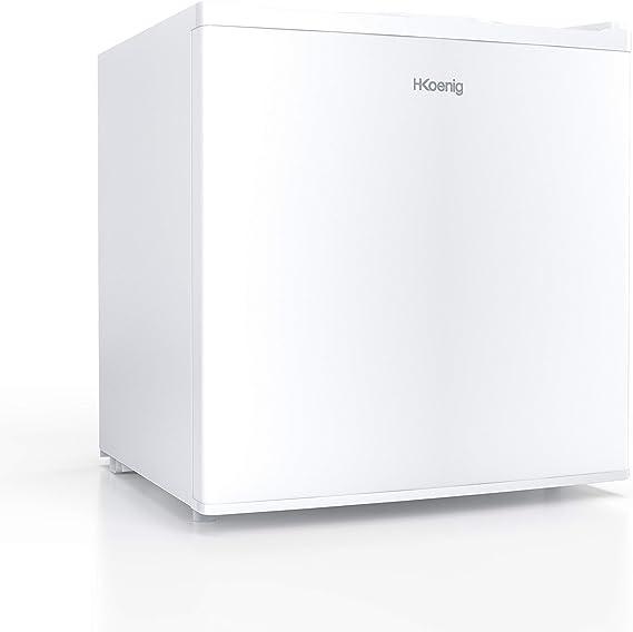 H.KOENIG Mini Congelador Vertical, 75 W, Capacidad de 34 litros ...