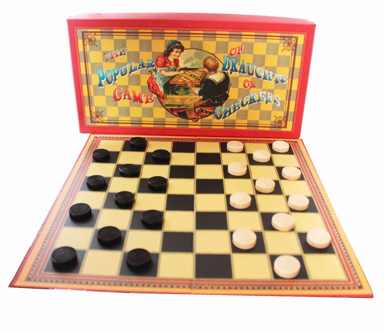 最も優遇 The or Popular Game of Draughts or Draughts Checkers [並行輸入品] of B017JZ130O, アスノーカ:1a93458e --- arianechie.dominiotemporario.com