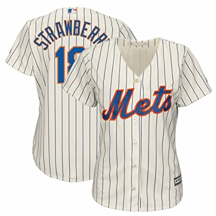 release date 6d2b9 378c9 Amazon.com : Darryl Strawberry Majestic New York Mets Home ...