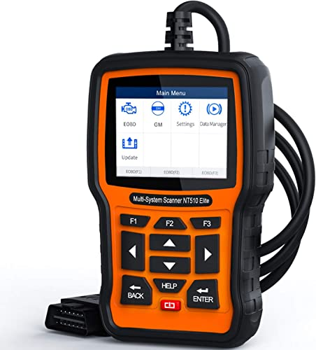 Foxwell NT510 Elite is a good ideal of GM scan tool for the experienced users