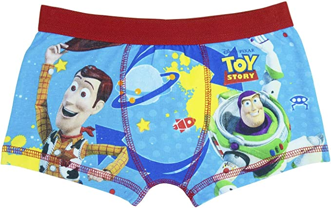 Toy Story Boys Boxer Shorts Boys Boxer Shorts Age 3-7 Years