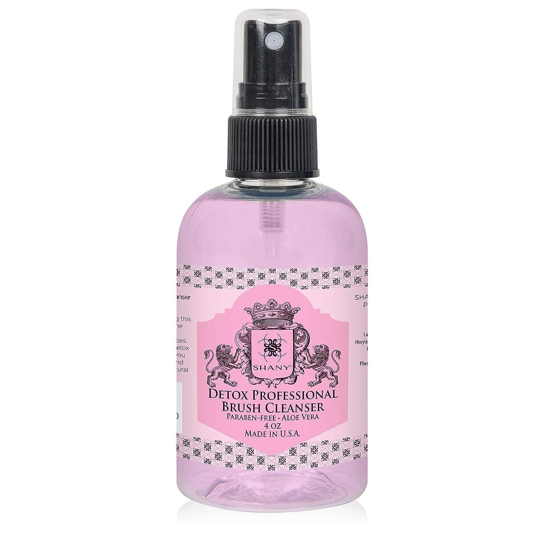 SHANY Detox Professional Brush Cleanser - Instant dry - Travel Size - 4oz: SHANY: Beauty