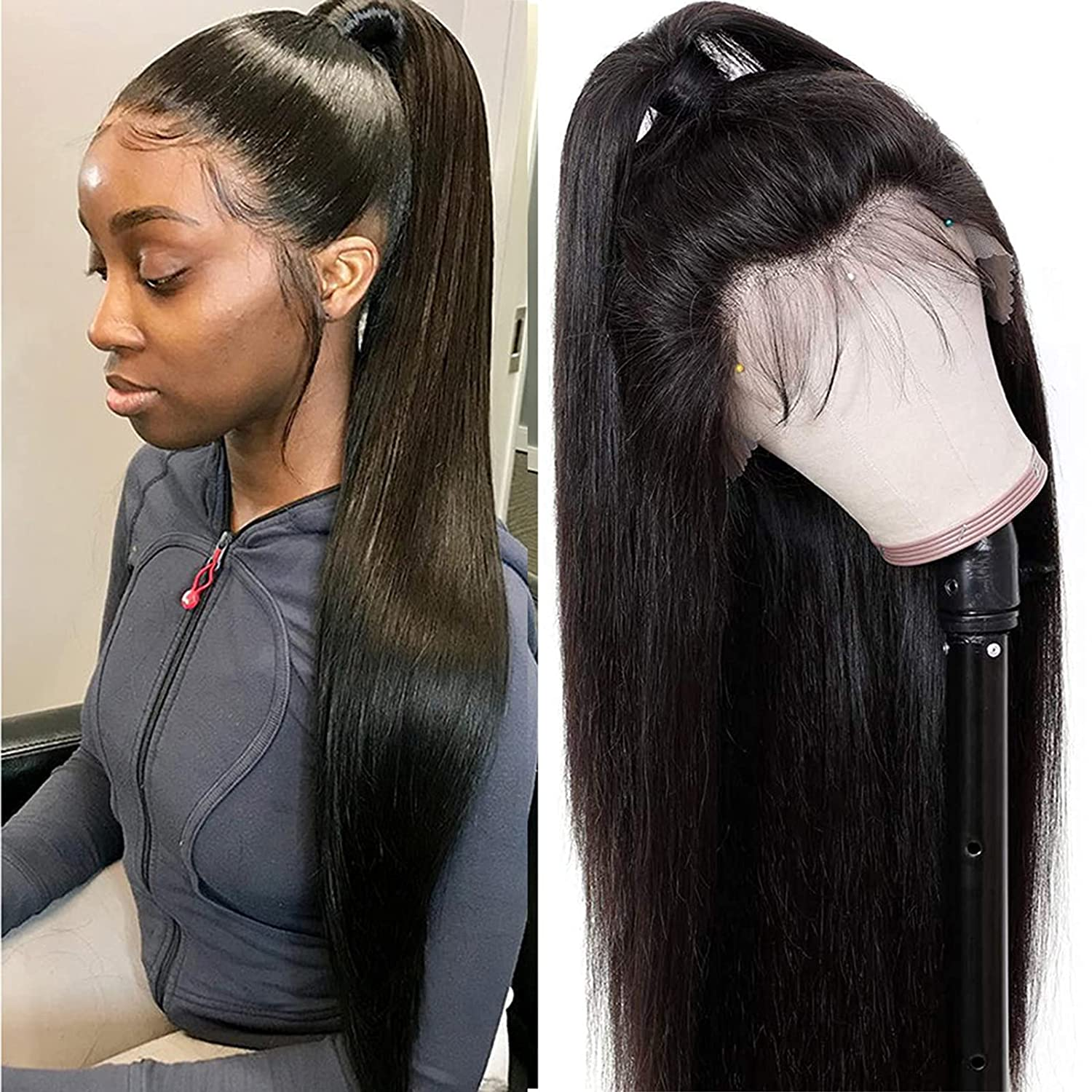 Lace Front Wigs Human Luxury goods Hair Unprocessed Brazilian 9A Our shop most popular 150% Density