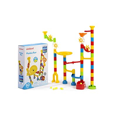 Miniland Educational - Marble Run (60 Pieces): Toys & Games