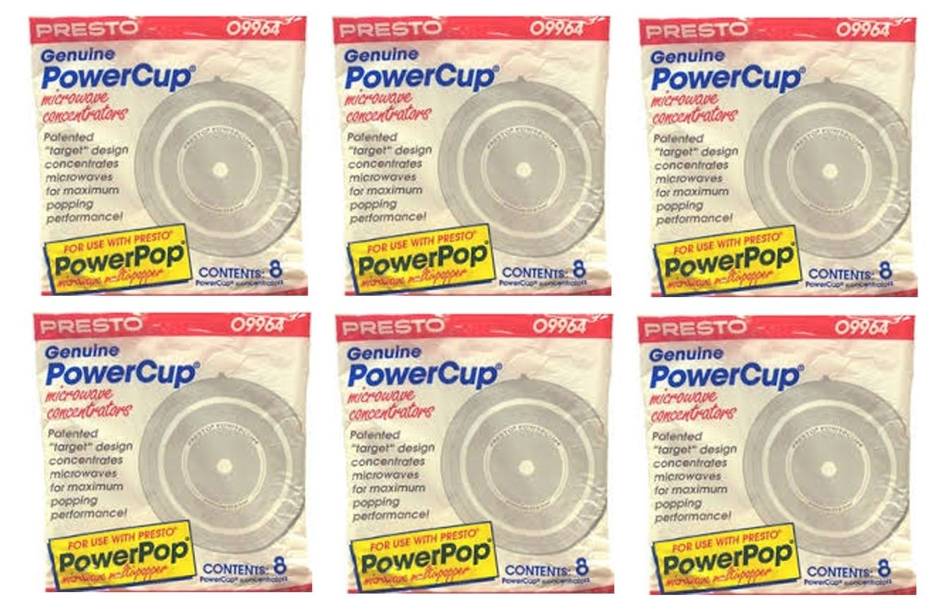 Presto 09964 Microwave Power Pop Powercup Popcorn Concentrator Cup - 48 Pack YPD SYNCHKG082062