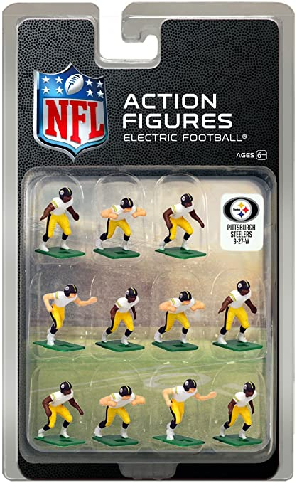 fda35590f Amazon.com  Pittsburgh Steelers Away Jersey NFL Action Figure Set ...