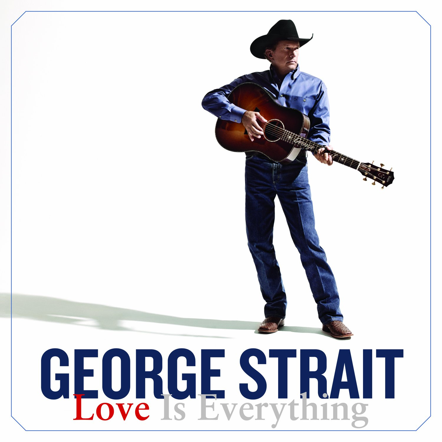 george strait love is everything music
