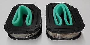 2 Air Filters Plus 2 Pre-Filters For Kohler Air Filter 32-083-03-S, 3208303S, 32 083 03S, 3288303S1, Pre-Filter 32-083-05-S, 3208305S, 12 083 05S. Same As John Deere MIU11943, Ariens 21542700 21542800 21550700, Craftsman 33180