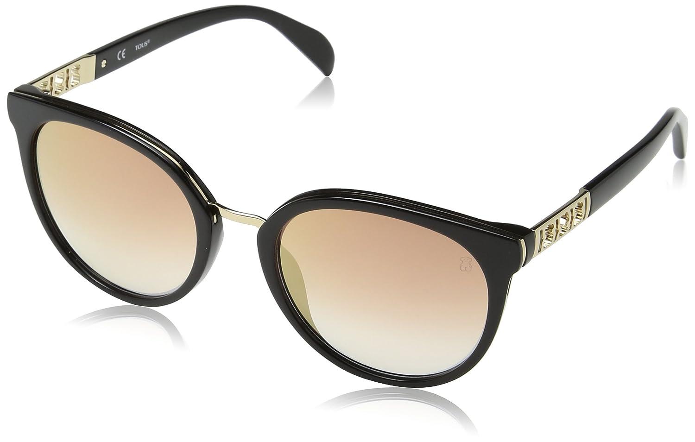 Tous Mujer STO997 Gafas de sol, Negro (Shiny Black)