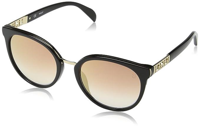 Tous Mujer STO997 Gafas de sol, Negro (Shiny Black): Amazon ...