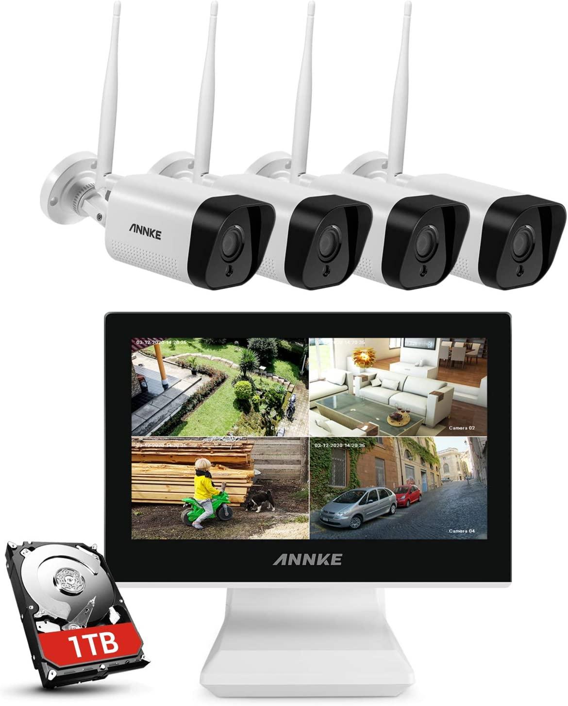 ANNKE WL400 5MP NVR with 10.1
