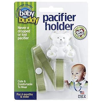 Amazon.com: Baby Buddy – Cinta para chupete (, Verde salvia ...