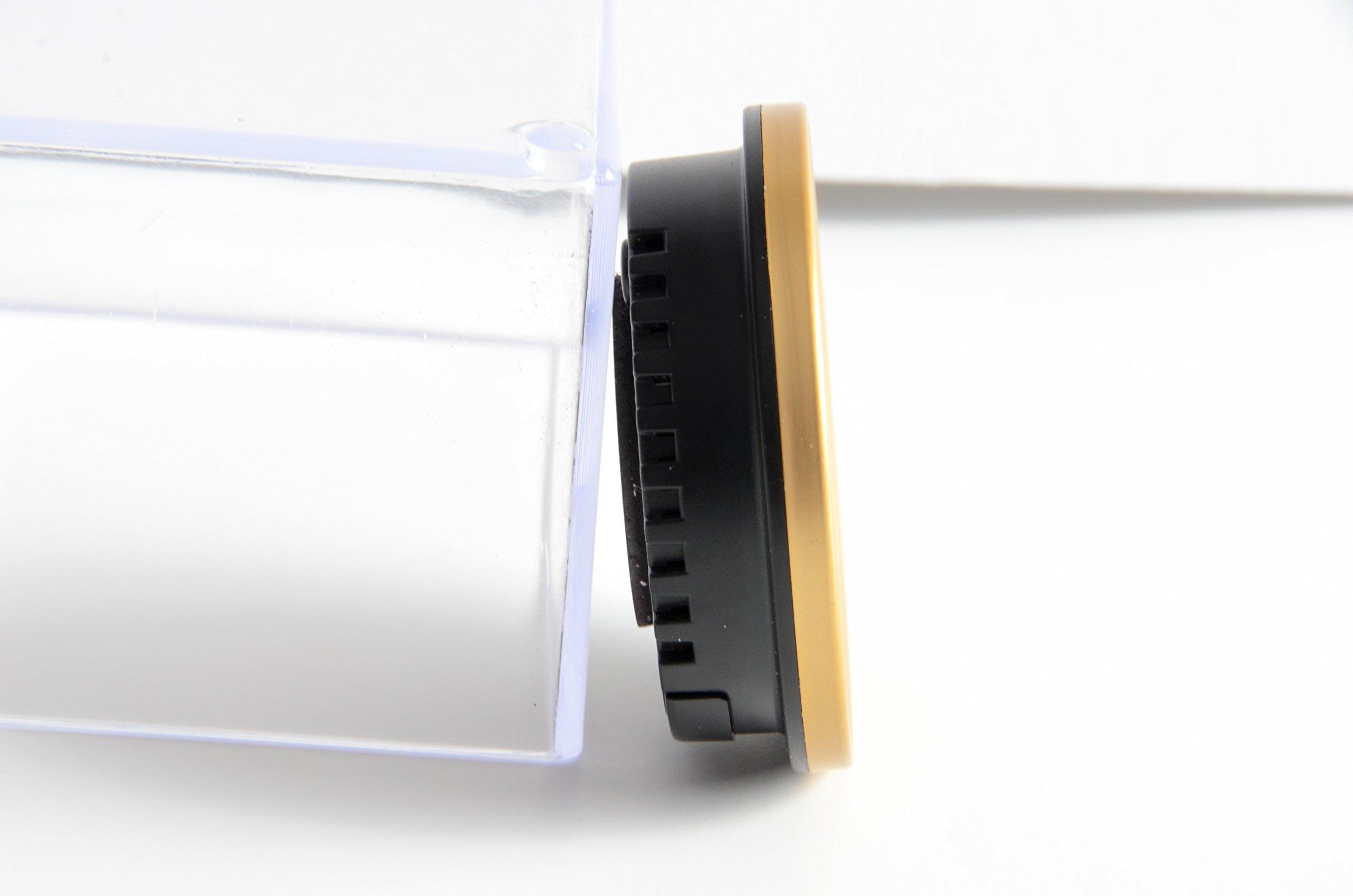 Cigar Oasis Caliber 4R Gold Digital/Analog Hygrometer by Western Humidor