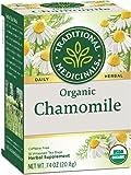 Traditional Medicinals Organic Chamomile Herbal Leaf Tea, 16 Tea Bags (Pack of 6)