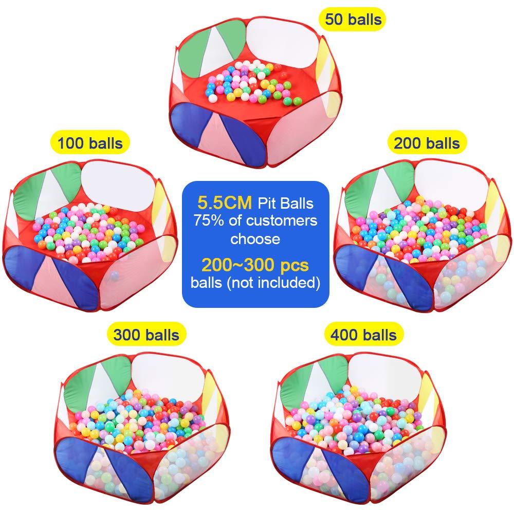 Amazon.com: Eocolz - Tienda de campaña para niños con pelota ...