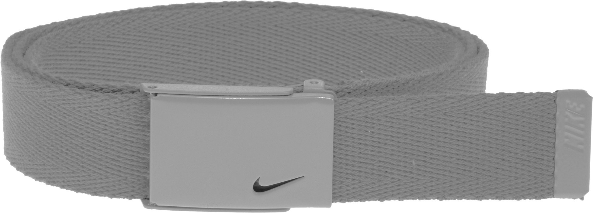 Nike Women's Nike Tech Essentials Single Web Belt, Grey, One Size