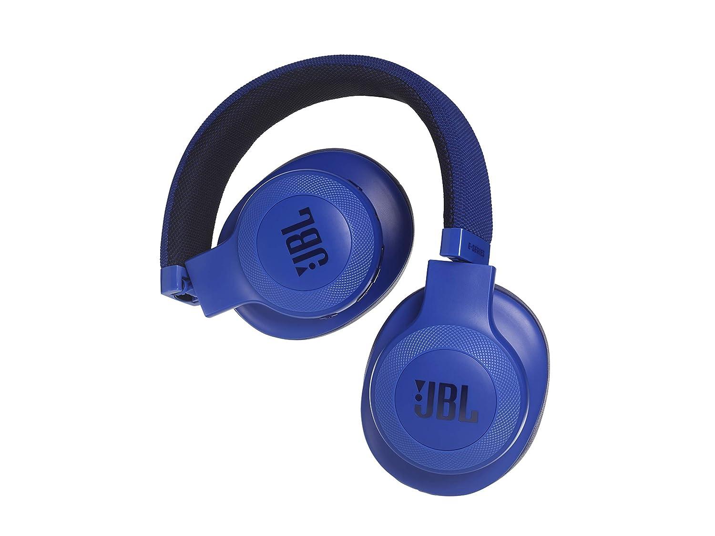 JBL E55BT - Auriculares Bluetooth supraaurales (plegables con cable y control remoto universal, batería de hasta 20h) color azul: Amazon.es: Electrónica
