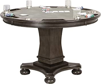 sale retailer cost charm uk availability Sunset Trading Vegas Dining and Poker Table, 2 in 1 Game, Distressed Gray  Wood
