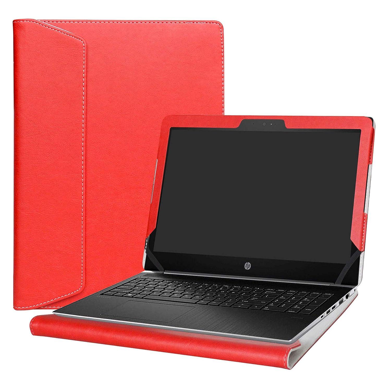 Alapmk Dise/ñado Especialmente La Funda Protectora de Cuero de PU para 13.3 HP ProBook 430 G5 G3 G2 G1 Series Ordenador port/átil No Compatible con HP ProBook 430 G4 ,Negro