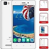smartphone economici in offerta v mobile A10 quadcore smartphone 5 pollici HD 5.0 MP,2800mAh Cellulari in Offerta smartphone offerta del giorno (bianco)