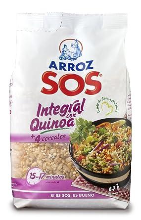 SOS- Arroz Integral Con Quinoa + 4 Cereales 500 g