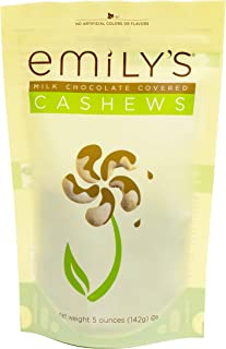 product image for Emily's Milk Chocolate Covered Cashews, 5 Ounce