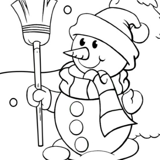 Amazon Com Best Snowman Coloring Pages Book For Kids Appstore For Android