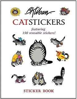 B Kliban Cat Stickers Sticker Book