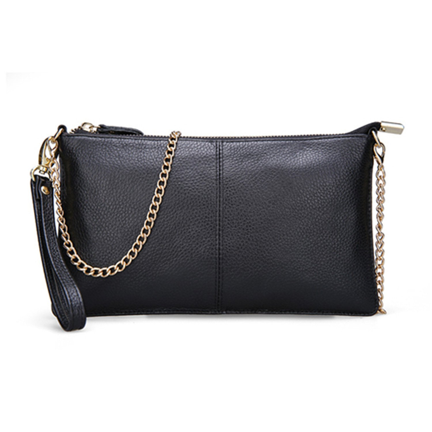 38e0a6c3213 Joseph Papa 15 Color Genuine Leather Women S Bag Designer Clutch Fashion  Women Leather Handbags Black  Handbags  Amazon.com