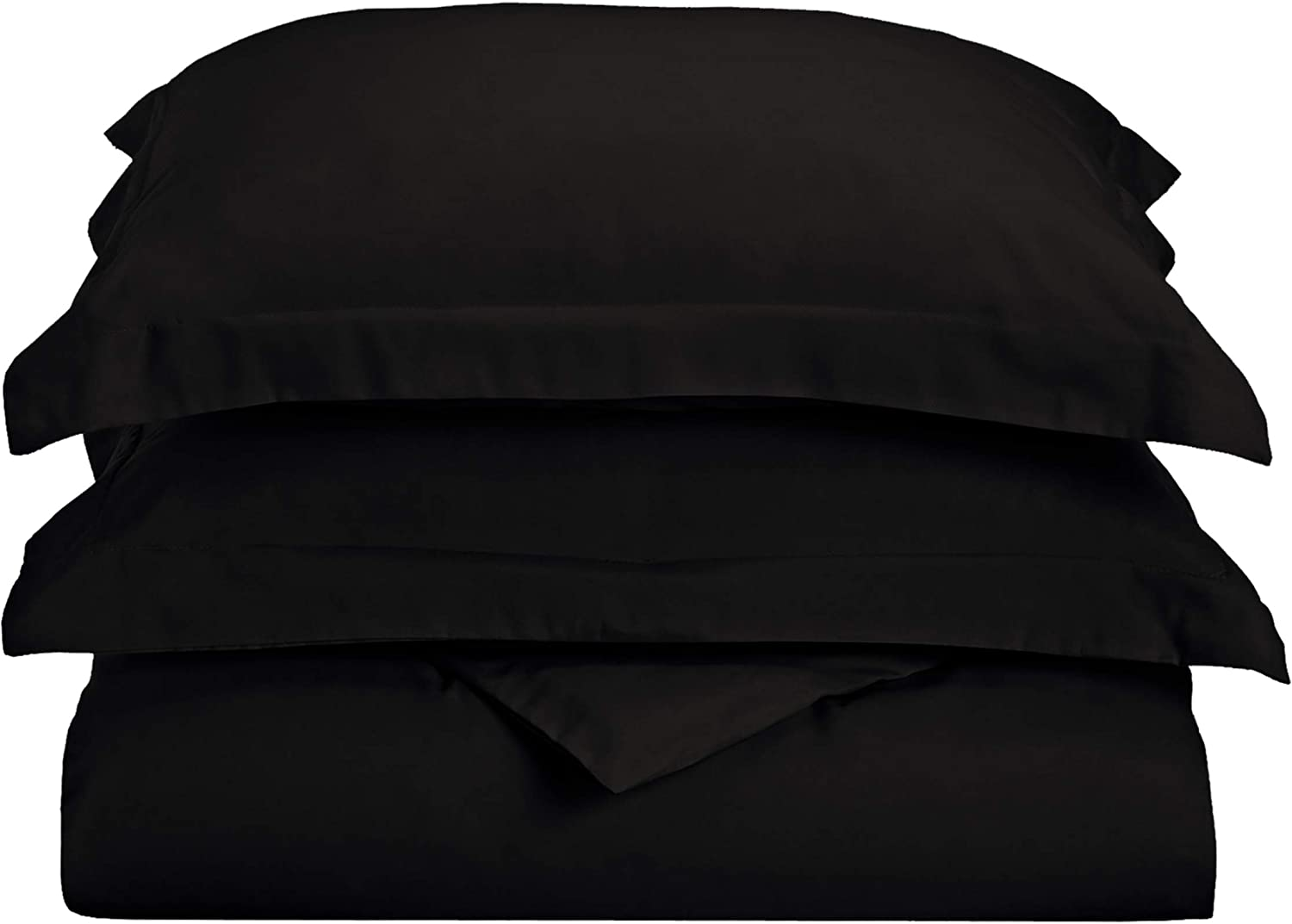 White Silky Soft and Luxurious Bedding Superior 1500 Series Premium Quality 100/% Brushed Soft Microfiber Duvet Cover Set with Pillow Shams Wrinkle and Stain Resistant Full//Queen