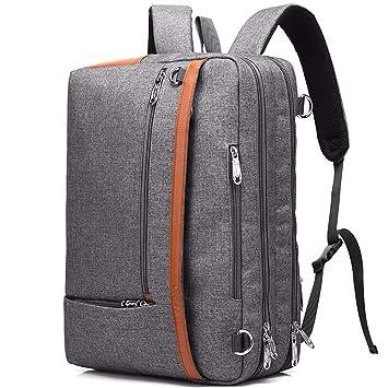 Mochila para computadora portátil Bolso de Mano portátil de Nylon para Macbook Pro 17 Laptop Bag 17.3 Maletín para computadora Hombros de Ordenador Mochila ...