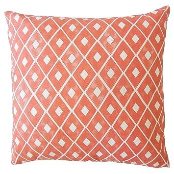 Amazon.com: The Pillow Collection Kaffi - Cojín con relleno ...