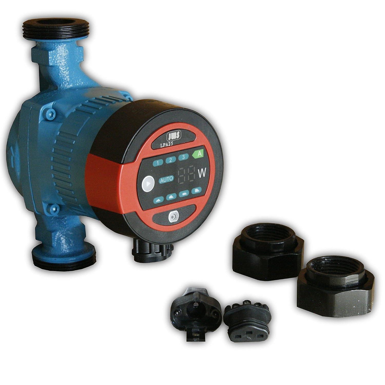 Bomba de circulaci/ón 25/ /60/180/Calefacci/ón Bomba Bomba de alta eficiencia Clase A Jws Calefacci/ón