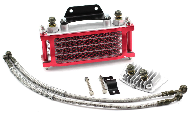 Engine Oil Cooler Radiator System for Dirt Bike Motocross Pit Bike