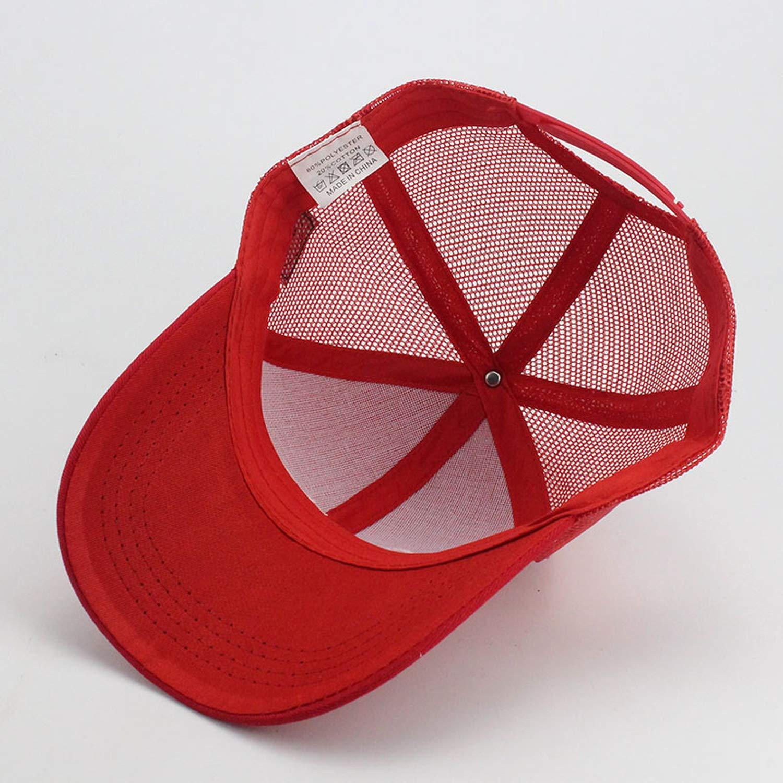 Children Smile Letter Embroidery Baseball Cap Mesh Hat Snapback Summer Tourism Sunshade Sun hat Hip Hop Caps
