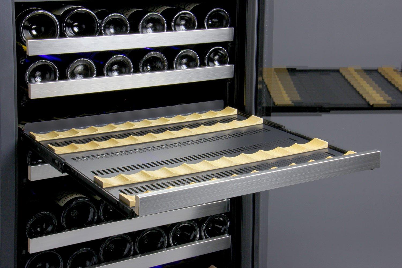 FlexCount Series 121 Bottle Dual Zone Freestanding Wine Refrigerator by Allavino (Image #7)